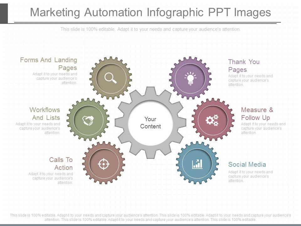 one marketing automation infographic ppt images