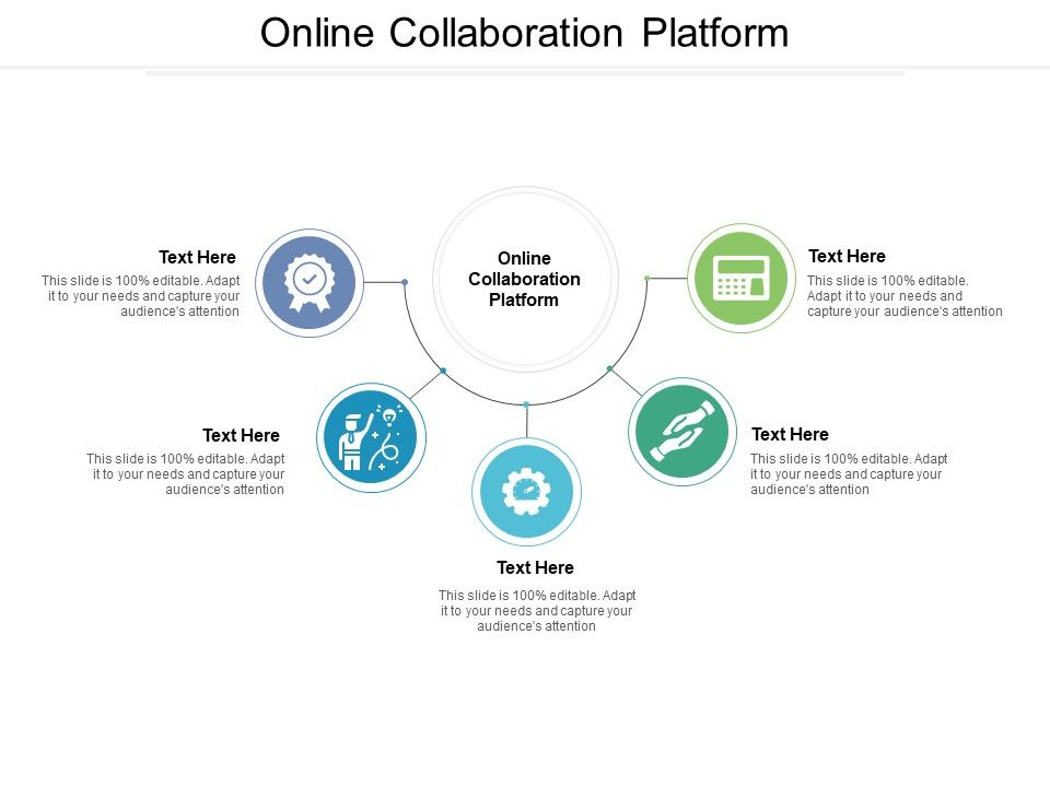 Online Collaboration Platform Ppt Powerpoint Presentation Infographic Template Styles Cpb