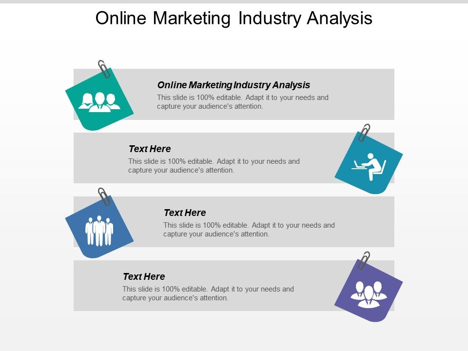Online Marketing Industry Analysis Ppt Powerpoint Presentation