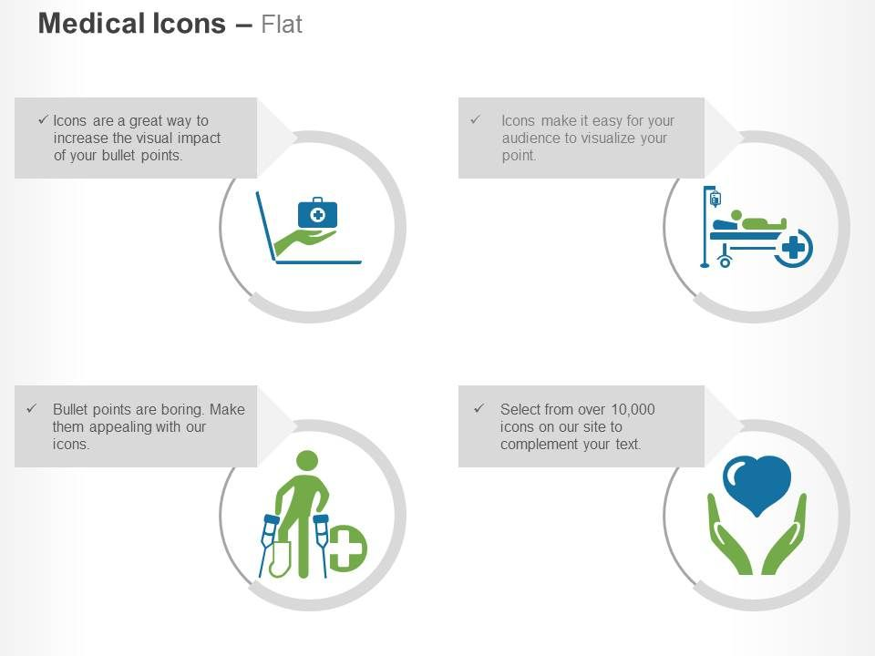 online_medical_help_hospital_facility_service_for_handicapped_health_insurance_ppt_icons_graphics_Slide01