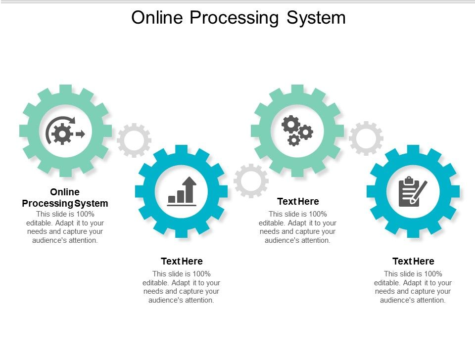 Online Processing System Ppt Powerpoint Presentation Layouts