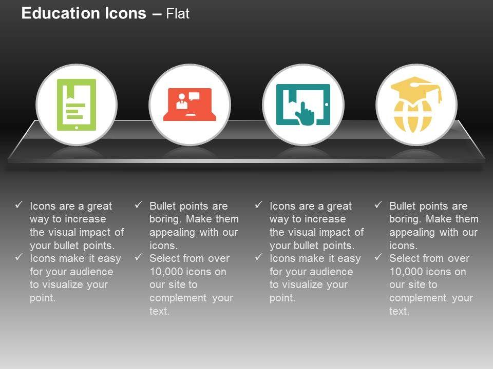 online_teacher_report_global_degree_education_ppt_icons_graphics_Slide01
