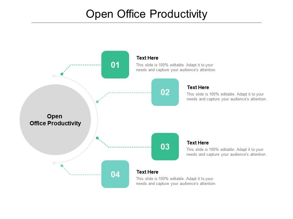 Open Office Productivity Ppt Powerpoint Presentation Outline Guide Cpb Presentation Graphics Presentation Powerpoint Example Slide Templates
