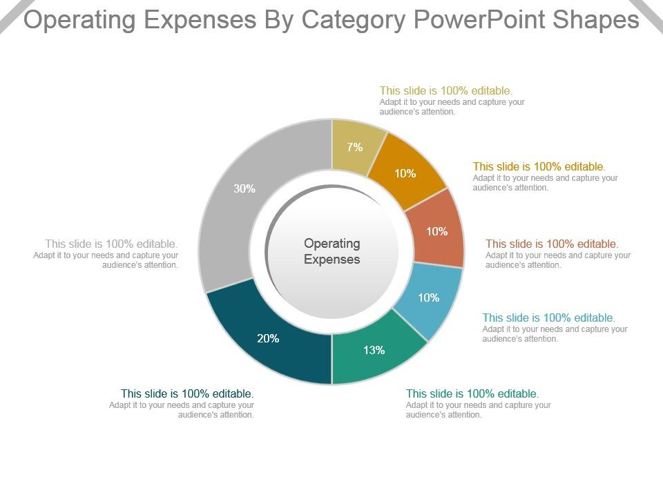 operating_expenses_by_category_powerpoint_shapes_Slide01