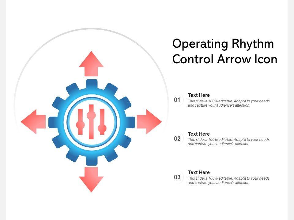 Operating Rhythm Control Arrow Icon