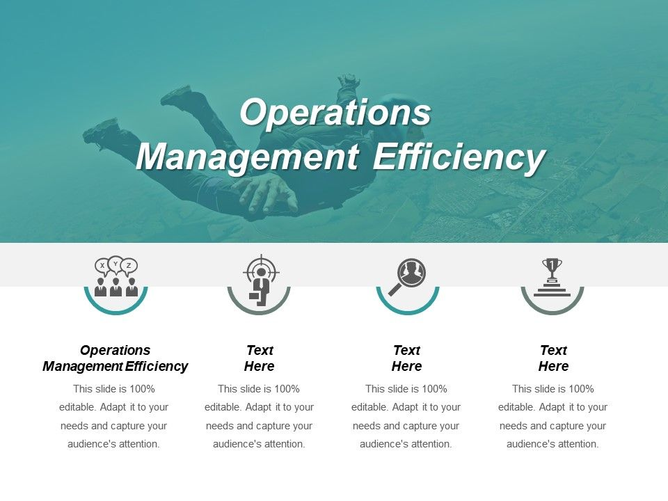 Operations Management Efficiency Ppt Powerpoint Presentation File