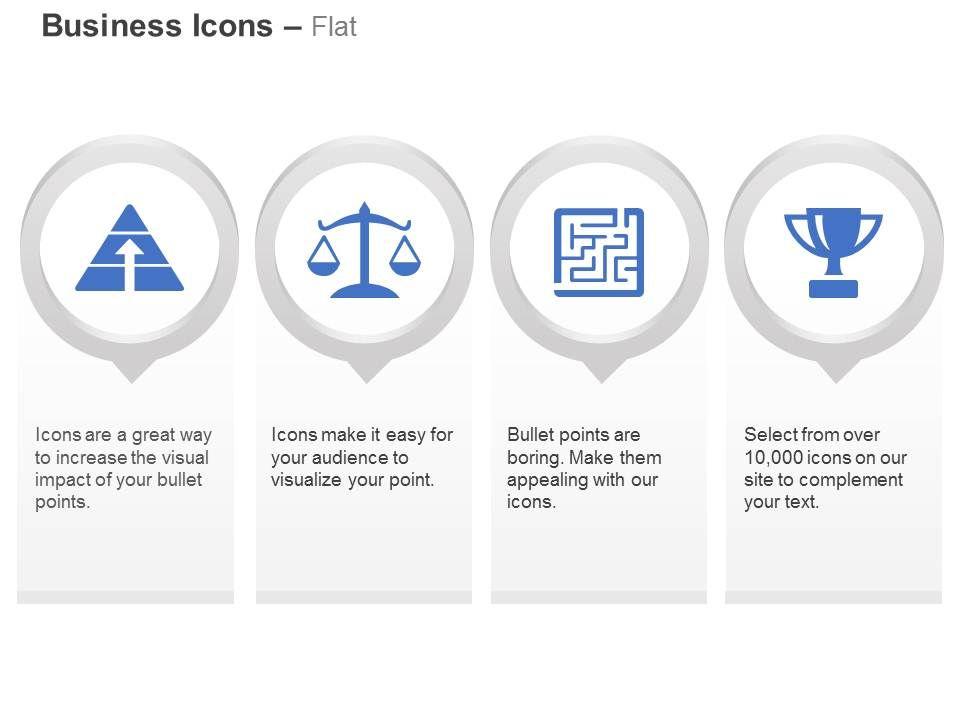 optimism_balance_problem_maze_trophy_ppt_icons_graphics_Slide01