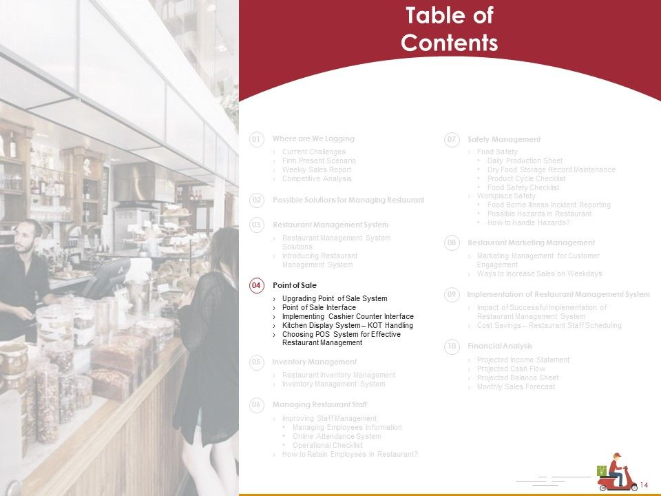 Optimization Of Restaurant Management Systems Powerpoint Presentation Slides Powerpoint Design Template Sample Presentation Ppt Presentation Background Images