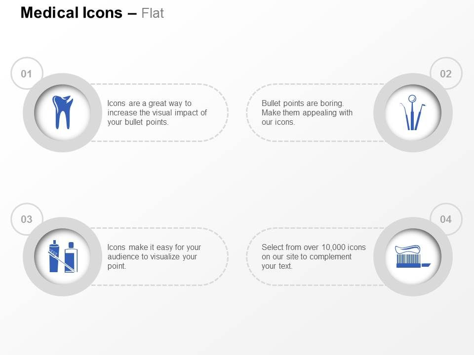 Oral Hygiene Techniques Human Ppt Icons Graphics