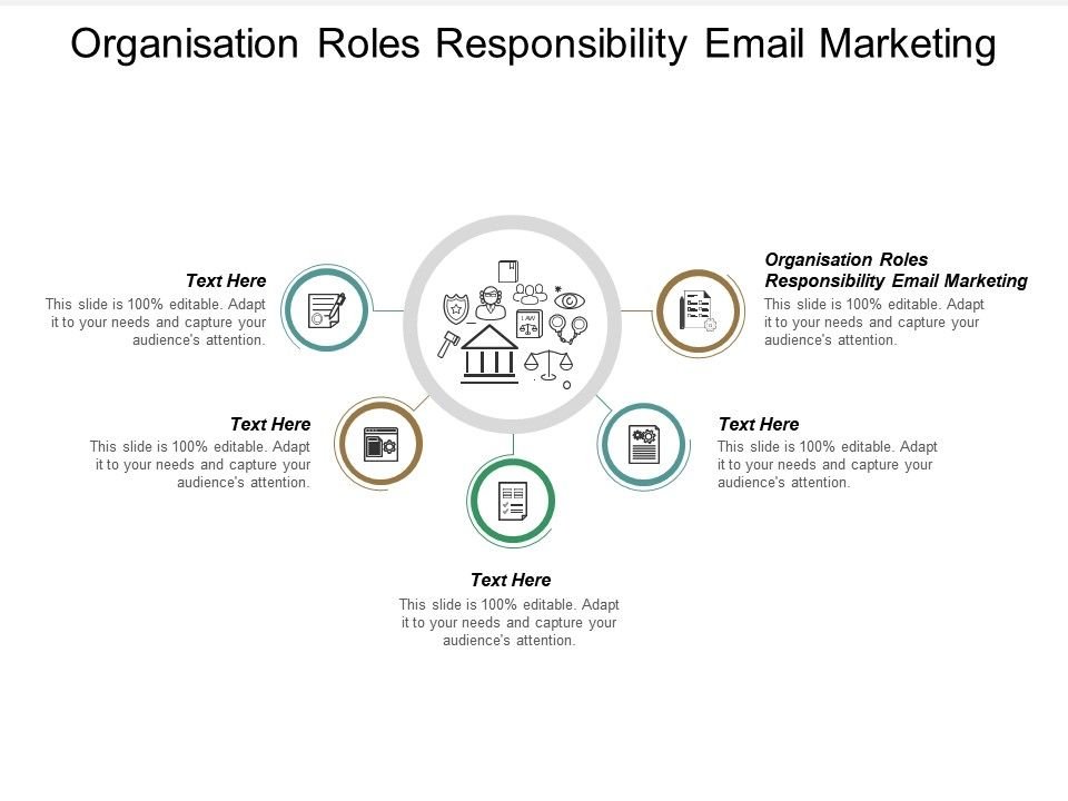 Organisation Roles Responsibility Email Marketing Ppt