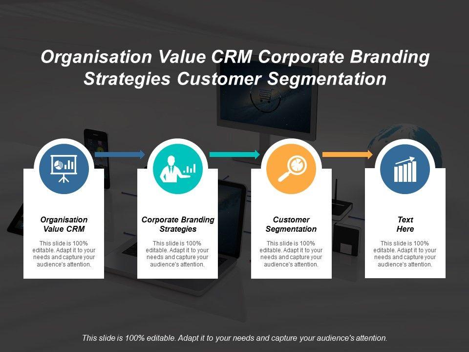 Organisation Value Crm Corporate Branding Strategies Customer Segmentation Cpb Slide01