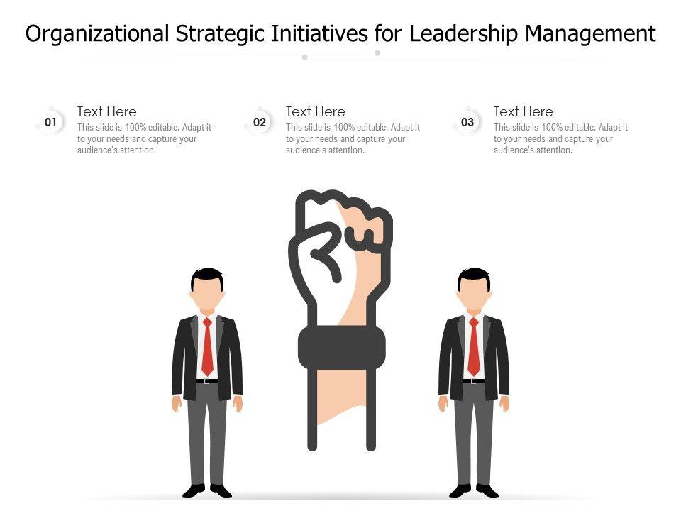 Organizational Strategic Initiatives For Leadership Management