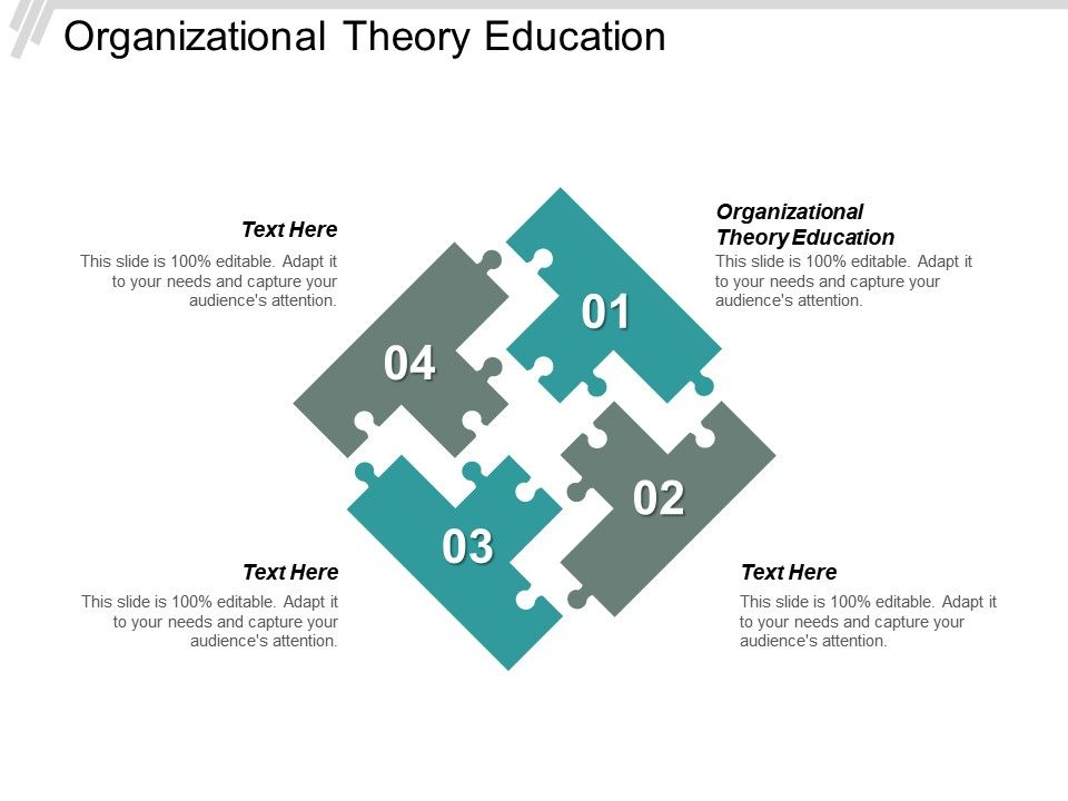 Organizational Theory Education Ppt Powerpoint Presentation Styles
