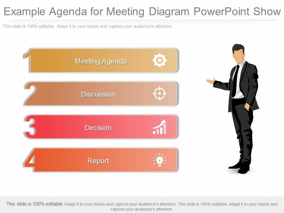 Connu Original Example Agenda For Meeting Diagram Powerpoint Show  PC83
