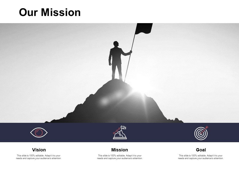 Our Mission And Vision Goal D267 Ppt Powerpoint Presentation Ideas Outline