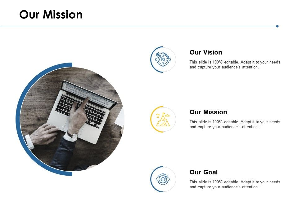 Our Mission And Vision Goal D52 Ppt Powerpoint Presentation Model Examples