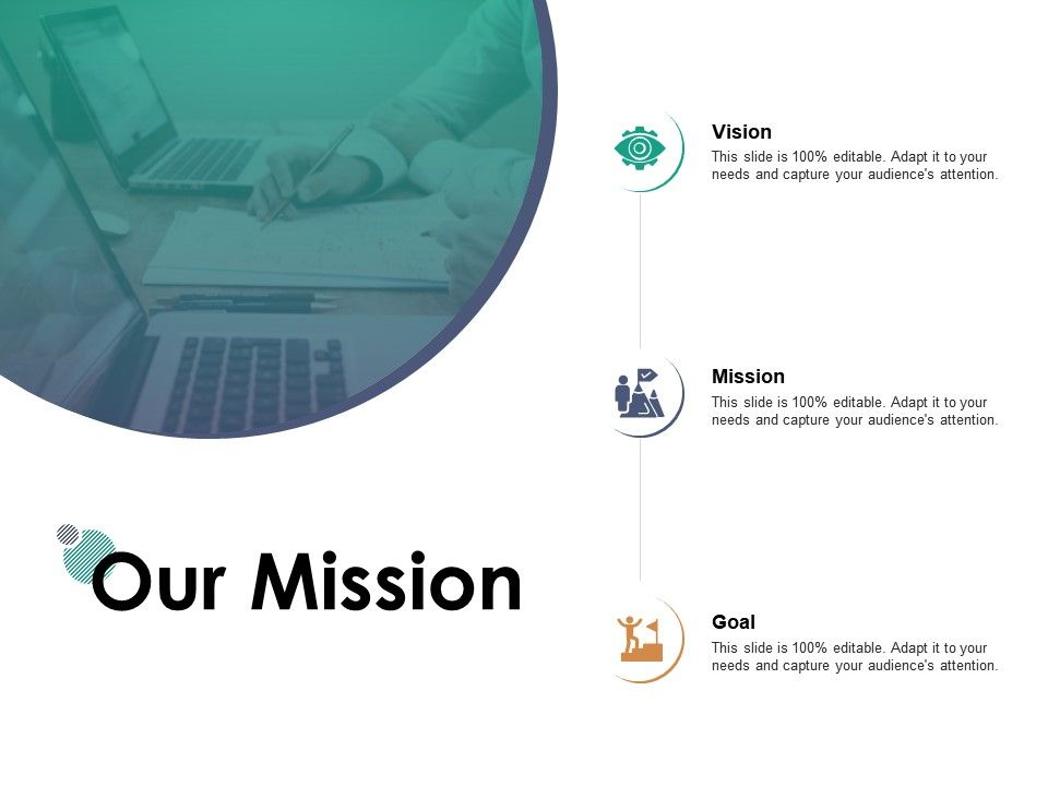 Our Mission Vision Goal E102 Ppt Powerpoint Presentation Icon Clipart