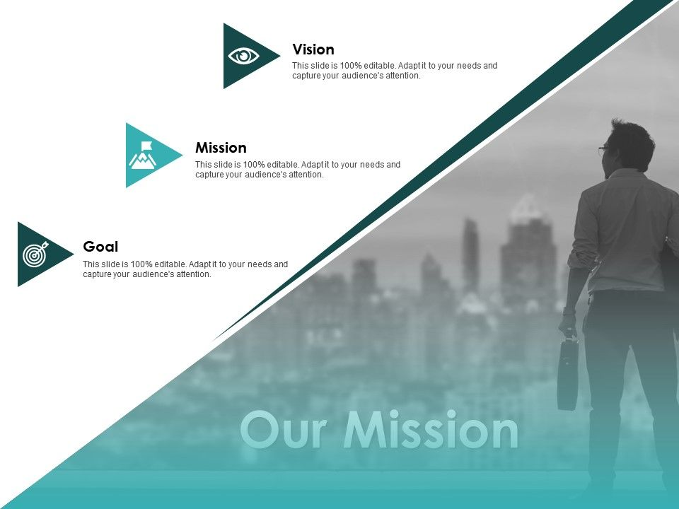 Our Mission Vision Goal F330 Ppt Powerpoint Presentation