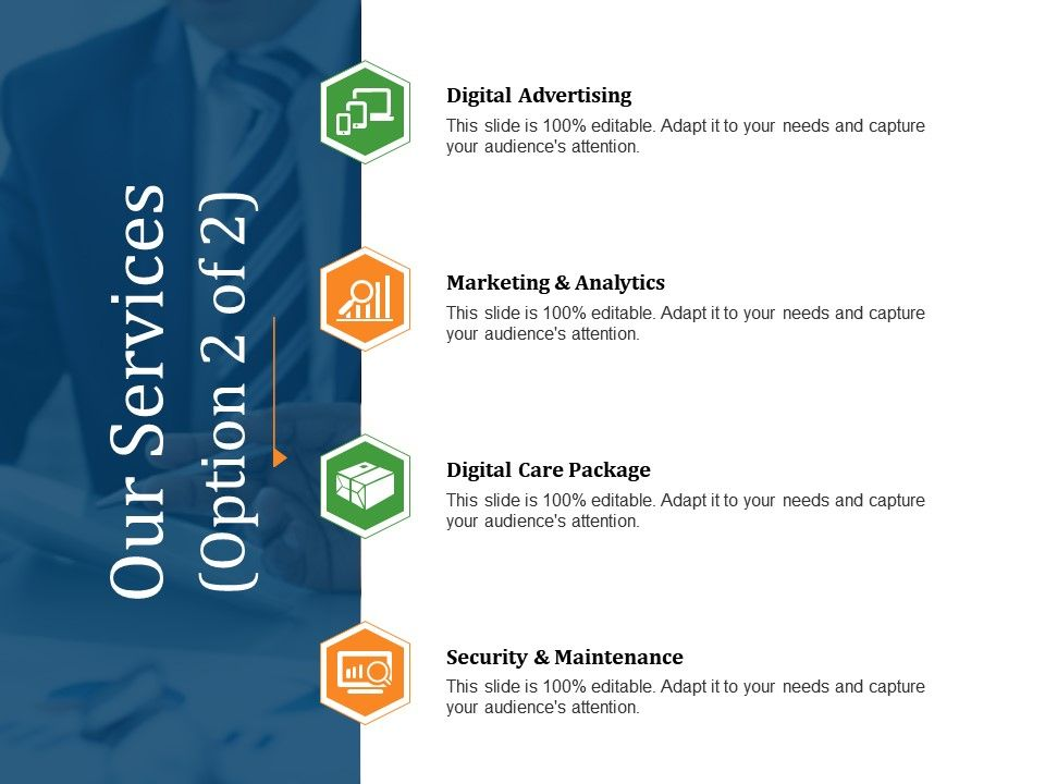 Our Services Powerpoint Slide Presentation Examples | PowerPoint