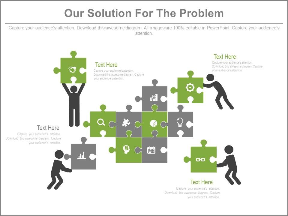 Our Solution For The Problem Ppt Slides Powerpoint Slides Diagrams