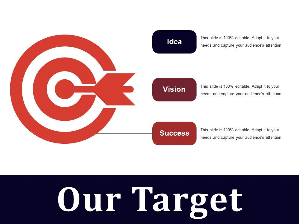 our target powerpoint slides template 2 presentation powerpoint