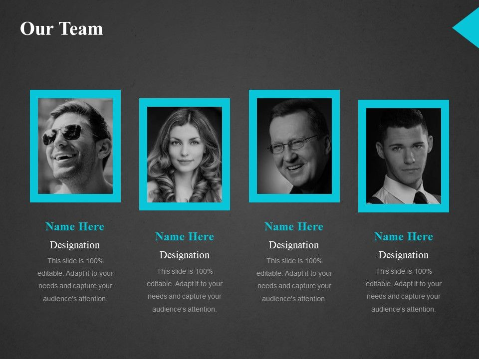 Our Team Ppt Model | Presentation PowerPoint Templates | PPT Slide