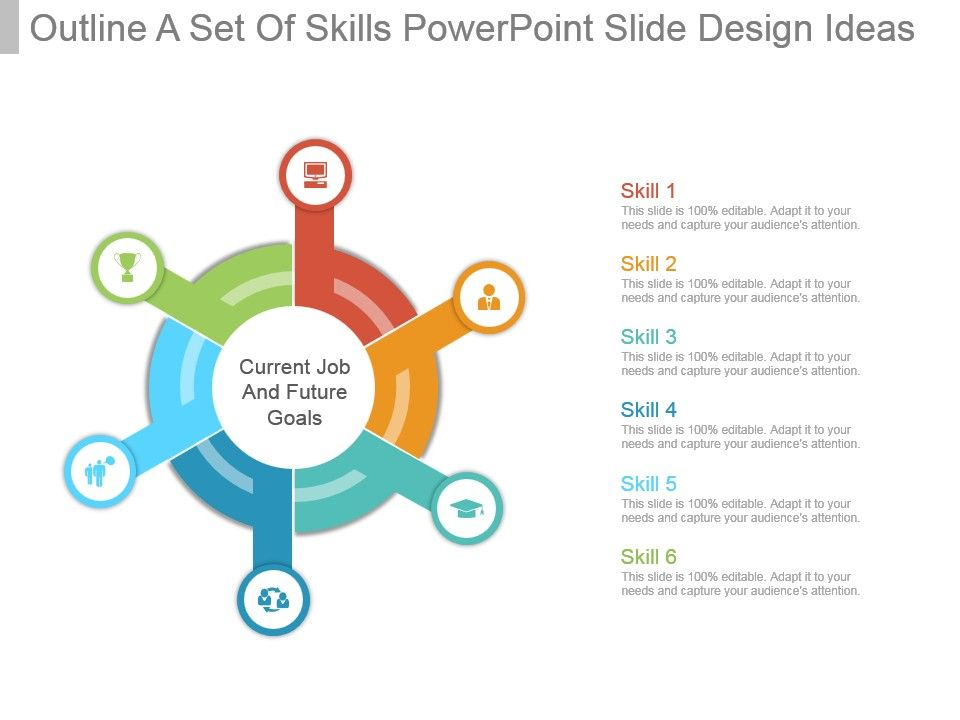 outline_a_set_of_skills_powerpoint_slide_design_ideas_Slide01