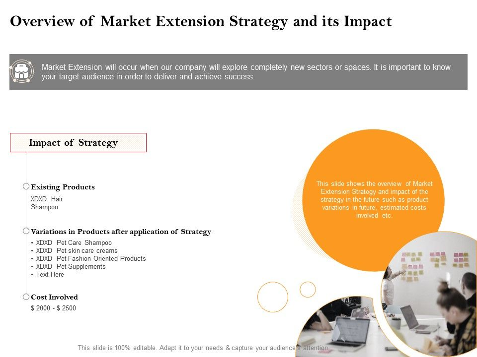 Overview Of Market Extension Strategy And Its Impact Pet Ppt Powerpoint Presentation Styles Maker