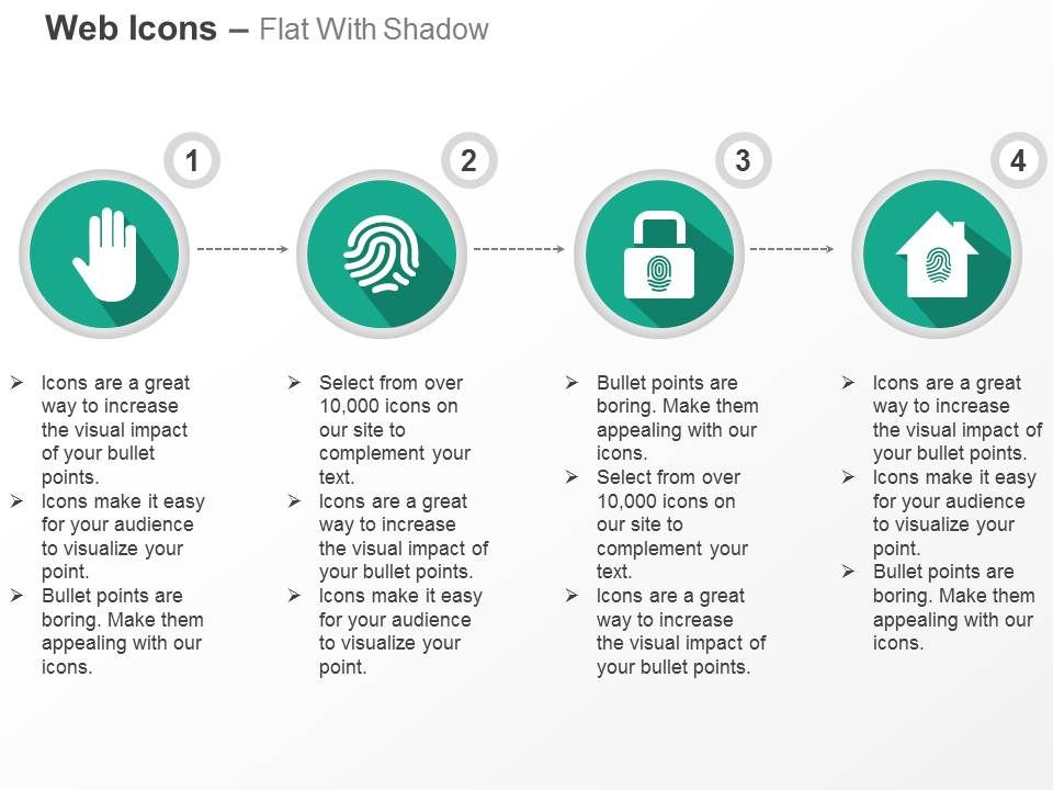 palm_whorl_fingerprint_lock_and_home_secure_ppt_icons_graphics_Slide01