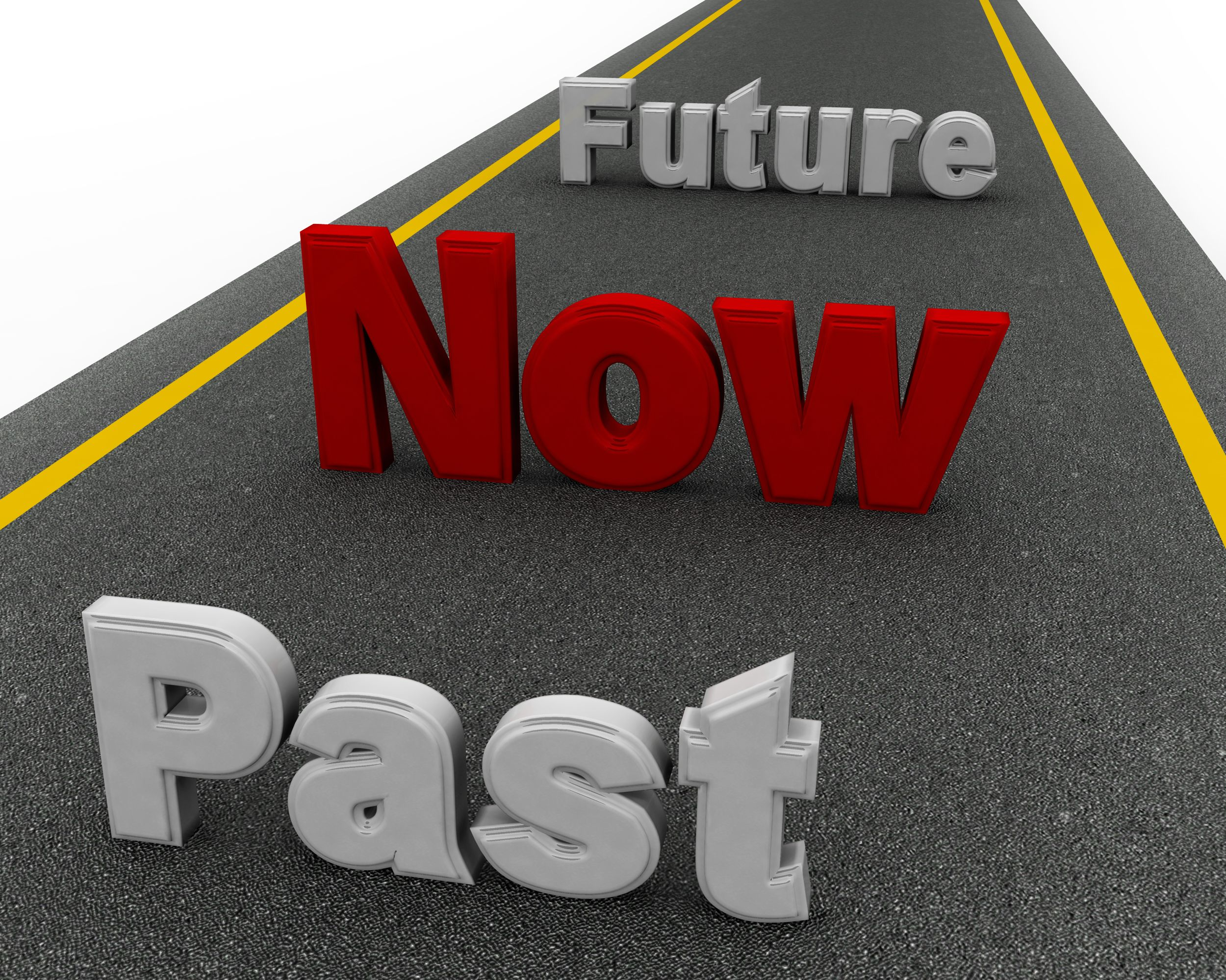 past now future on roadmap graphic stock photo powerpoint slide template presentation templates ppt layout presentation deck