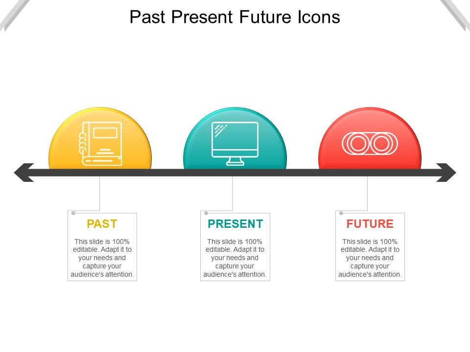 Past Present Future Icons Powerpoint Templates Download