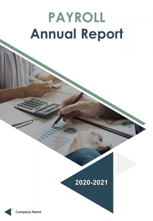 Payroll Annual Report Template PDF DOC PPT Document Report Template