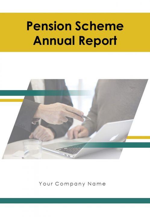 Pension Scheme Annual Report PDF DOC PPT Document Report Template