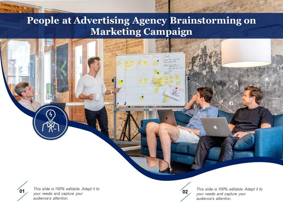 People At Advertising Agency Brainstorming On Marketing Campaign