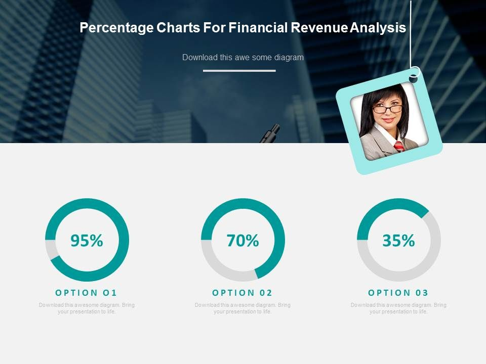 percentage_charts_for_financial_revenue_analysis_powerpoint_slides_Slide01