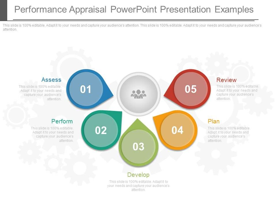 Performance Appraisal Powerpoint Presentation Examples  Template