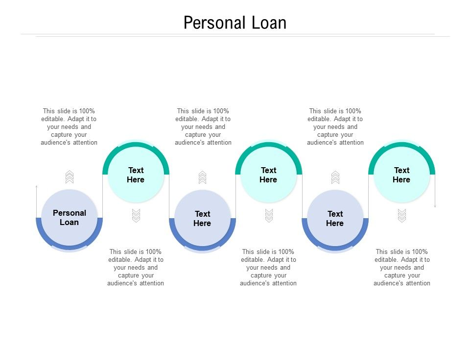 Personal Loan Ppt Powerpoint Presentation Visual Aids Pictures Cpb