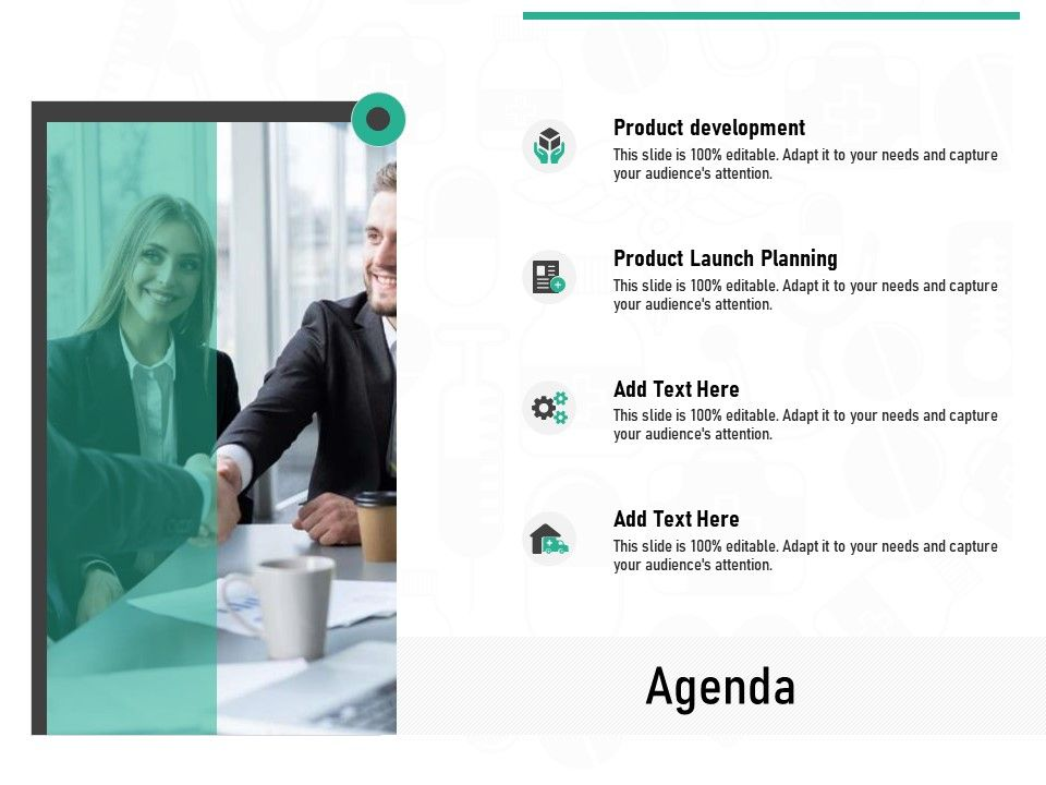 Pharmaceutical Marketing Agenda Ppt Powerpoint Presentation Infographics Grid