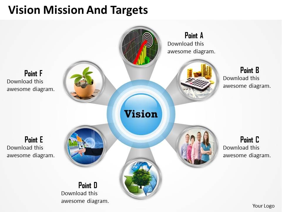 Pictorial Diagram With Six Staged 0214 Powerpoint Presentation