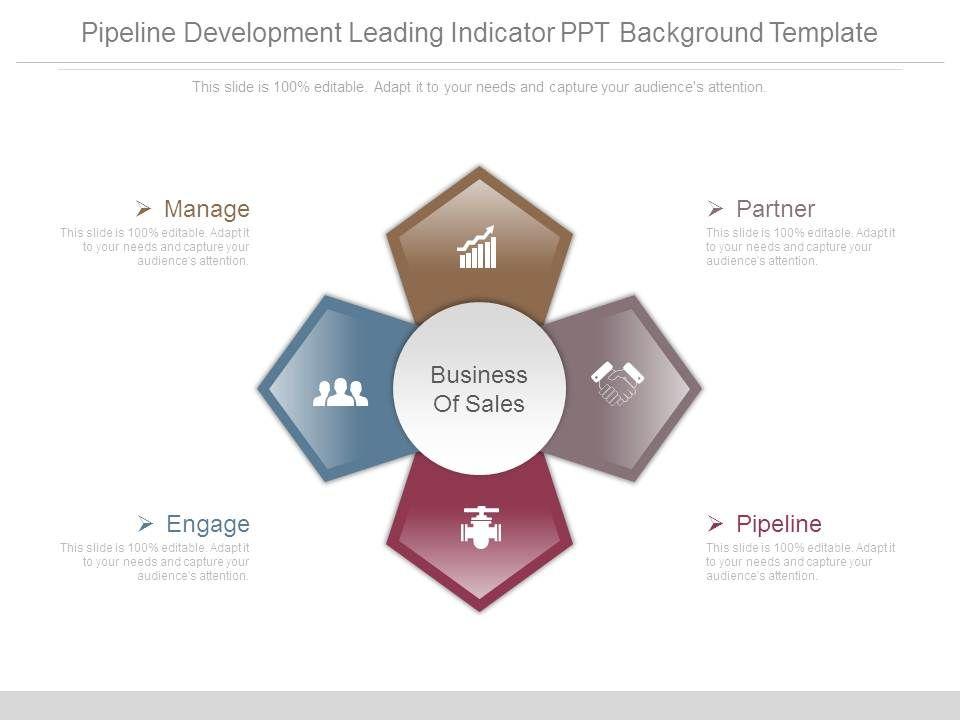 pipeline_development_leading_indicator_ppt_background_template_Slide01