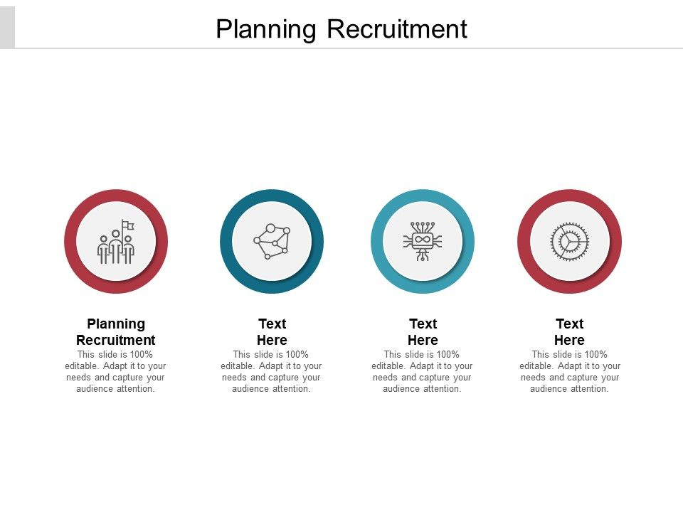 Planning Recruitment Ppt Powerpoint Presentation Pictures Graphics Cpb