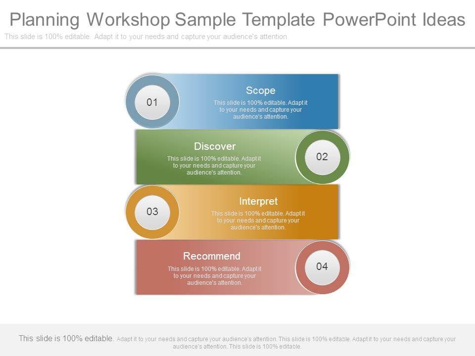 Planning Workshop Sample Template Powerpoint Ideas | PowerPoint