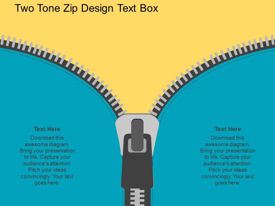 Po two tone zip design text boxes flat powerpoint design template potwotonezipdesigntextboxesflatpowerpointdesignslide01 potwotonezipdesigntextboxesflatpowerpointdesignslide02 toneelgroepblik