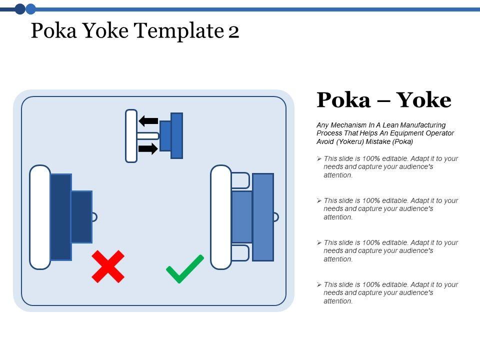 Poka Yoke Lean Manufacturing Ppt Powerpoint Presentation File Graphics