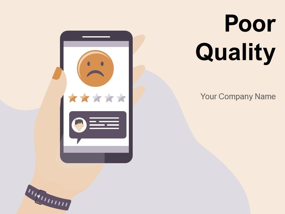 Poor Quality Service Customer Document Unsatisfied Feedback