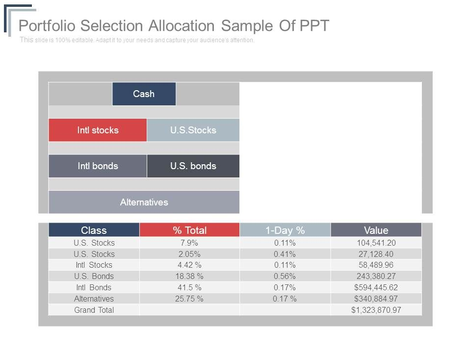 portfolio_selection_allocation_sample_of_ppt_Slide01