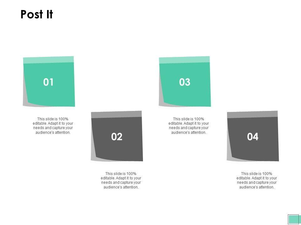 Post It Business Management G13 Ppt Powerpoint Presentation Model Visuals