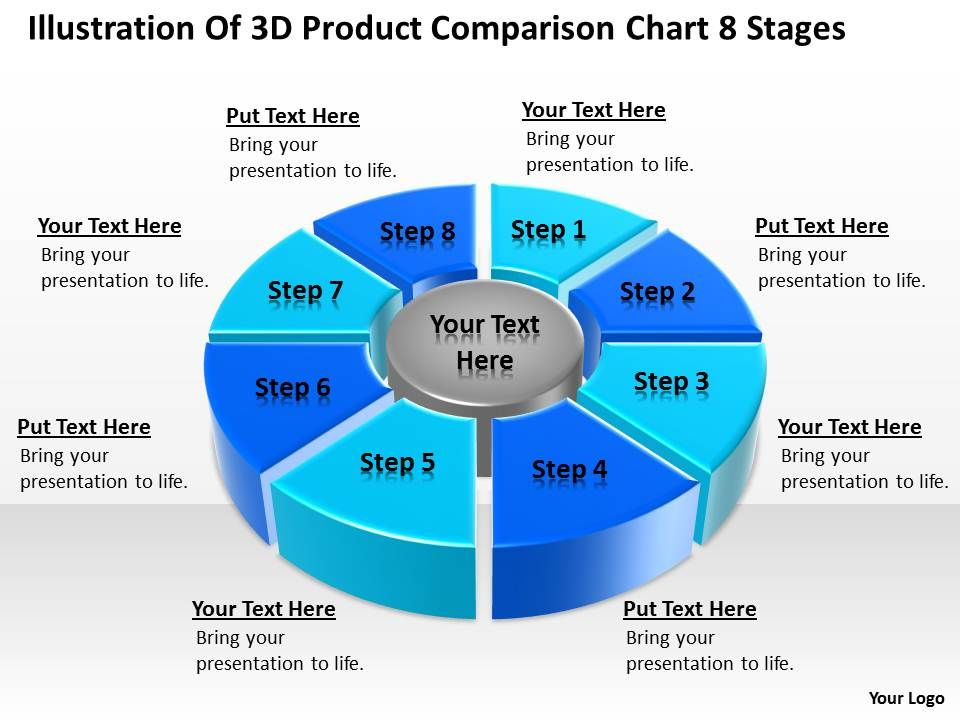 powerpoint_graphics_business_illustration_of_3d_product_comparison_chart_8_stages_slides_Slide01