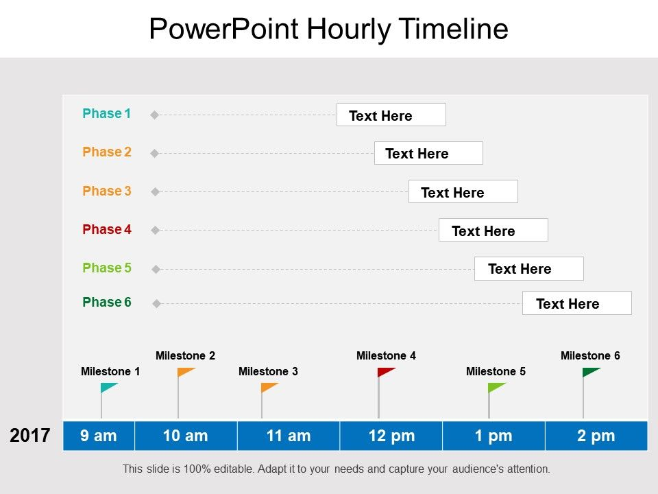 Hourly Timeline Template from www.slideteam.net