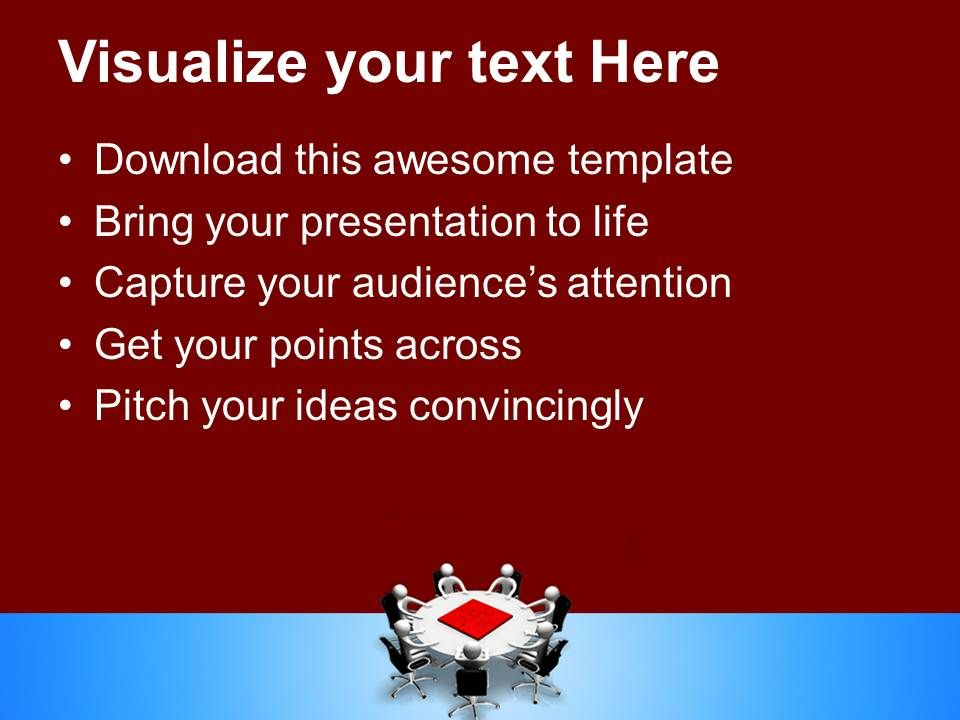 Powerpoint Puzzle Pieces Template Templates Teamwork Solution